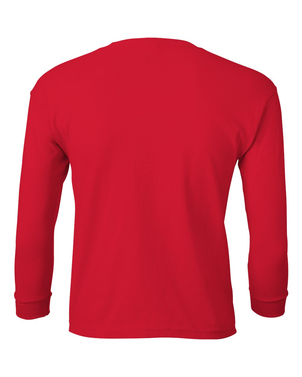 Gildan Long Sleeve t Shirt Template Cotton Long Sleeve T-shirt